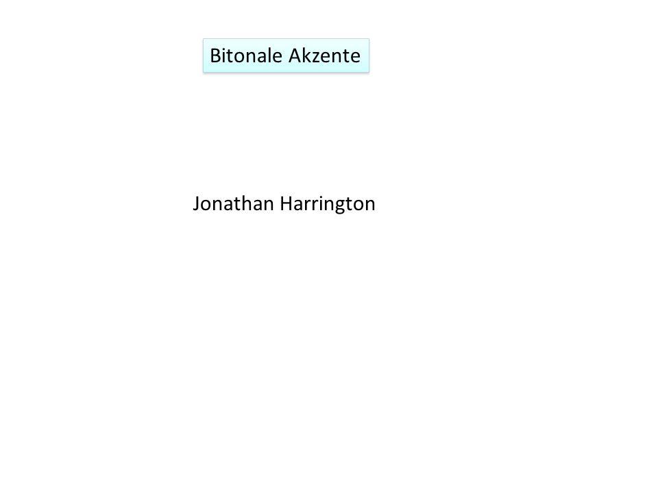 Jonathan Harrington Bitonale Akzente