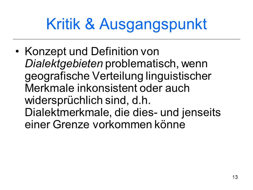 J. Nerbonne & Ch. Siedle (2005) Dialektklassifikation auf der Grundlage aggregierter Ausspracheunterschiede Zeitschrift für Dialektologie und Linguist