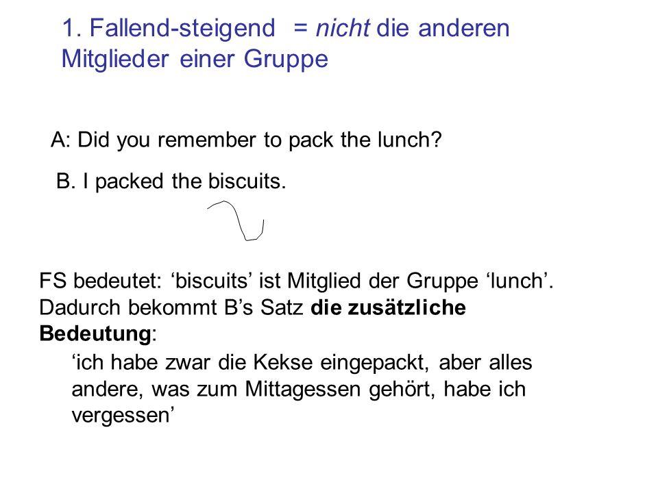 Semantische Unterschiede: die FS-Melodie kann in Englisch jedoch nicht in Deutsch (?) für Auswahl aus einer Gruppe verwendet werden…