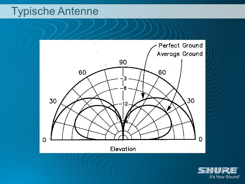 Typische Antenne