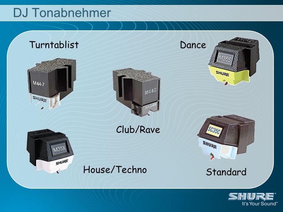 DJ Tonabnehmer Turntablist Club/Rave Dance Standard House/Techno