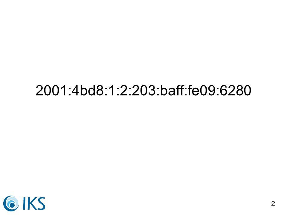 3 IP Adressen IP Adressen sind Hausnummern Datenverkehr sind Pakete an IP Adressen Absender IP für die Rückrichtung nötig IP Adressen müssen global eindeutig sein IP Adressen kann man nicht verstecken Internet = Eindeutige, sichtbare IP