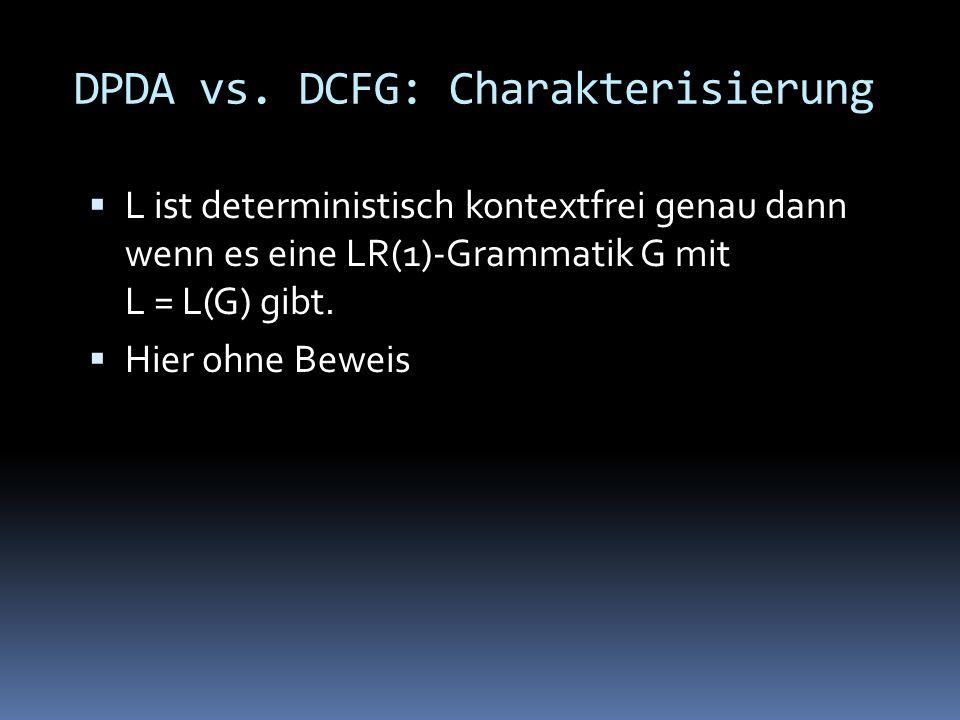 DPDA vs.