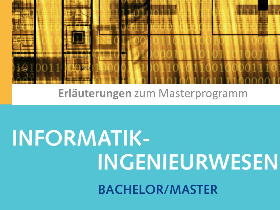IIW Erläuterungen zum Masterprogramm