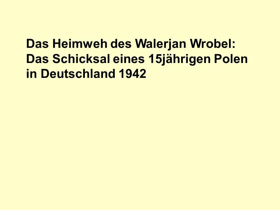 Das Schicksal des Walerjan Wrobel.Teil 6: Das Urteil Richter: Es ergeht das folgende Urteil.