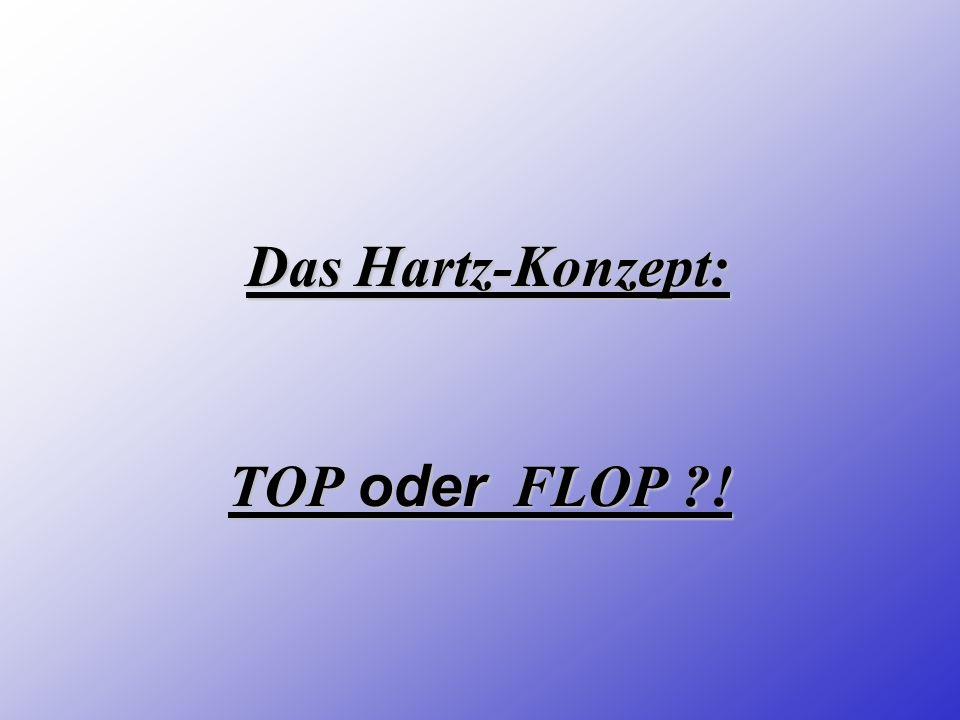 TOP oder FLOP ?! Das Hartz-Konzept:
