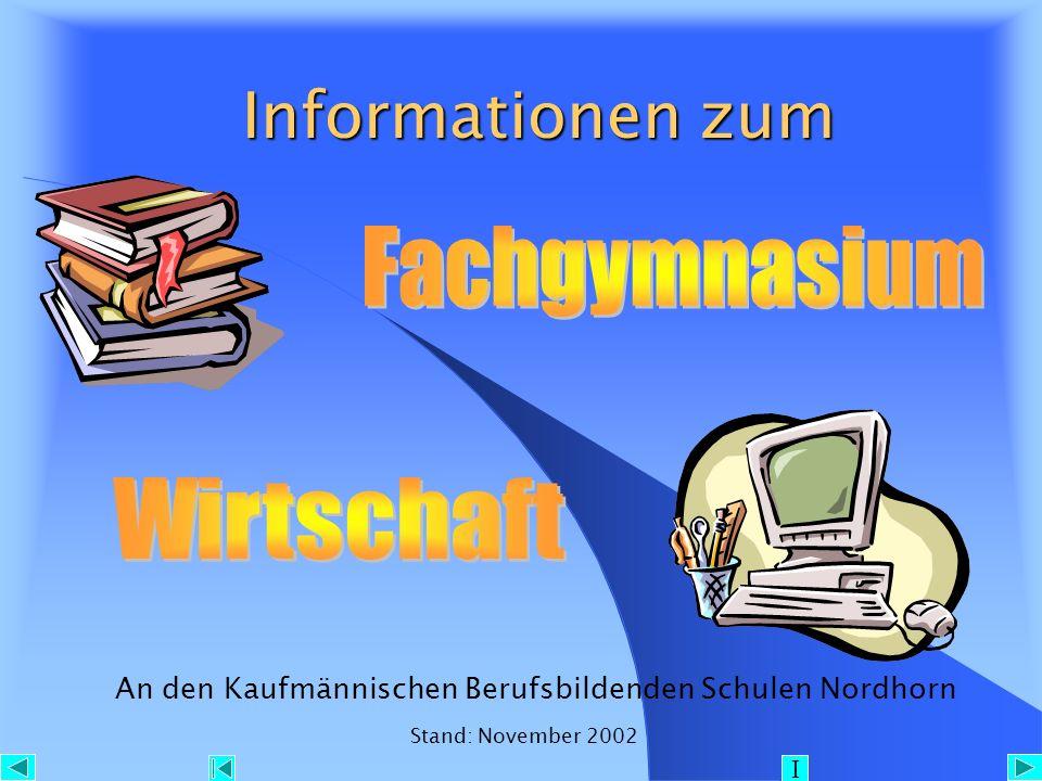 Inhaltsverzeichnis Inhaltsverzeichnis 1.Fachrichtungen 2.
