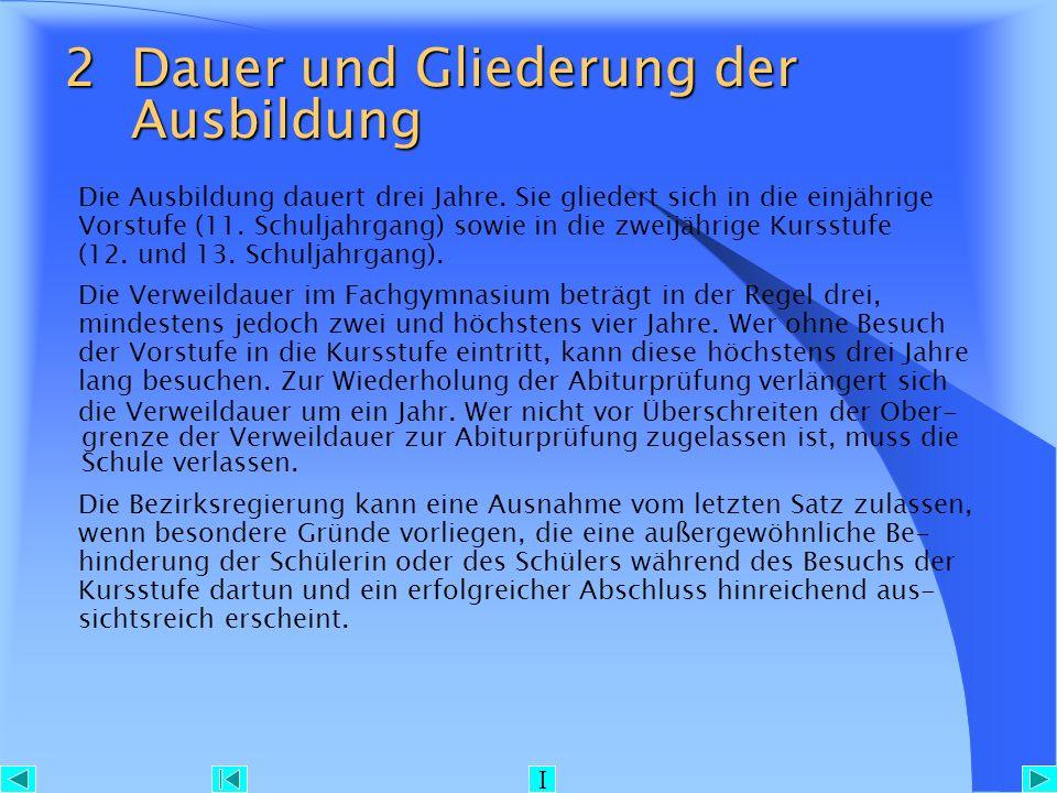 3 Versetzung und Ausgleichsregelungen 3.1 Versetzung Im Fachgymnasium findet eine Versetzung nur am Ende der Vorstufe in die Kursstufe statt (§ 4 EB-BbS-VO).