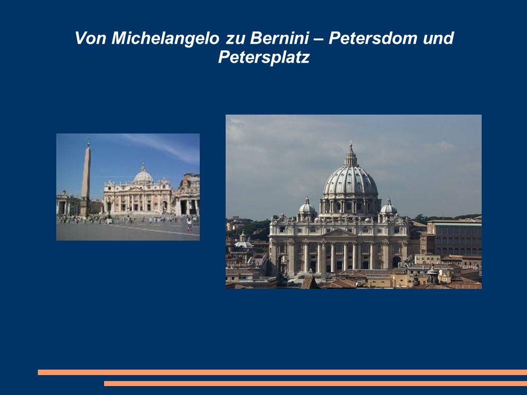 Baugeschichte des Petersdoms Apostel Petrus erlitt 64 oder 67 im Circus der Nero den Märtyrertod.