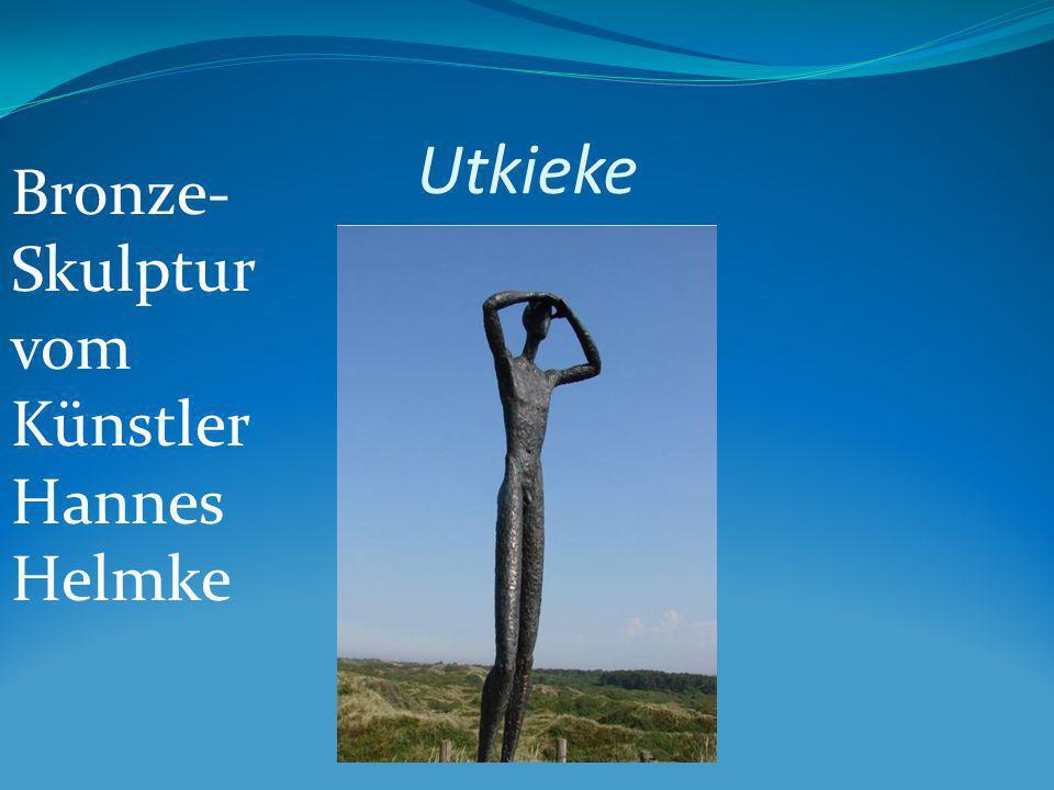 Bronze- Skulptur vom Künstler Hannes Helmke Utkieke
