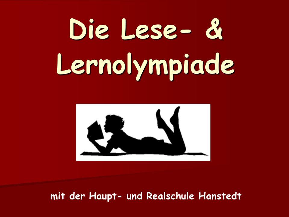 Die Lese- & Lernolympiade mit der Haupt- und Realschule Hanstedt