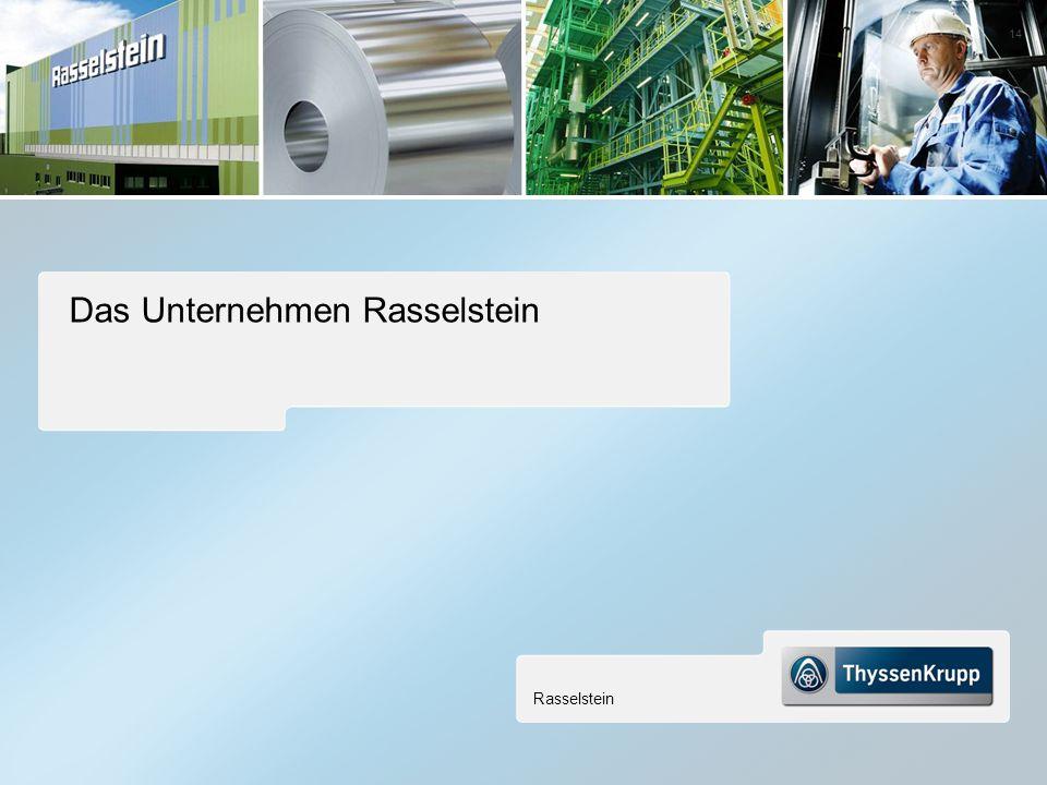 Rasselstein 14 Das Unternehmen Rasselstein
