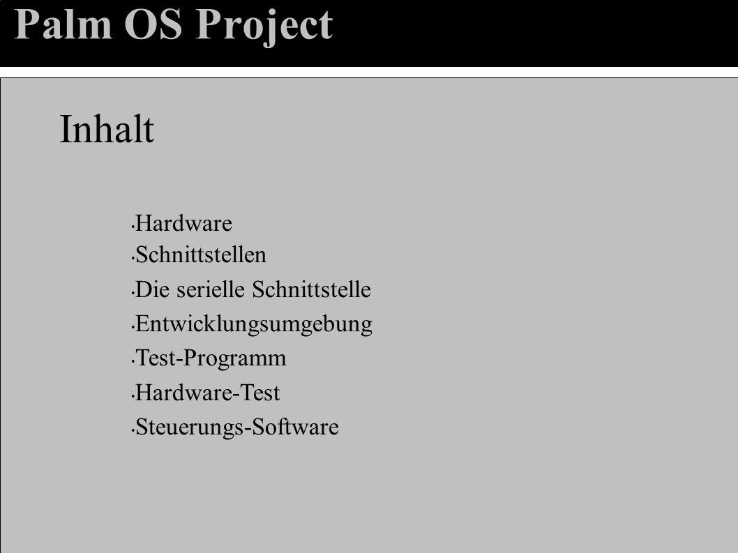 Palm OS Project Einfuehrung – Warum das ganze.