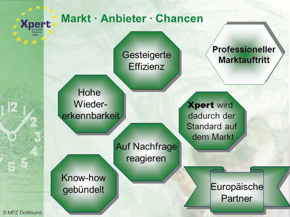 Xpert -Angebote im Überblick Xpert personal business skills Xpert european computer passport Xpert Linux Xpert business © MPZ Dortmund