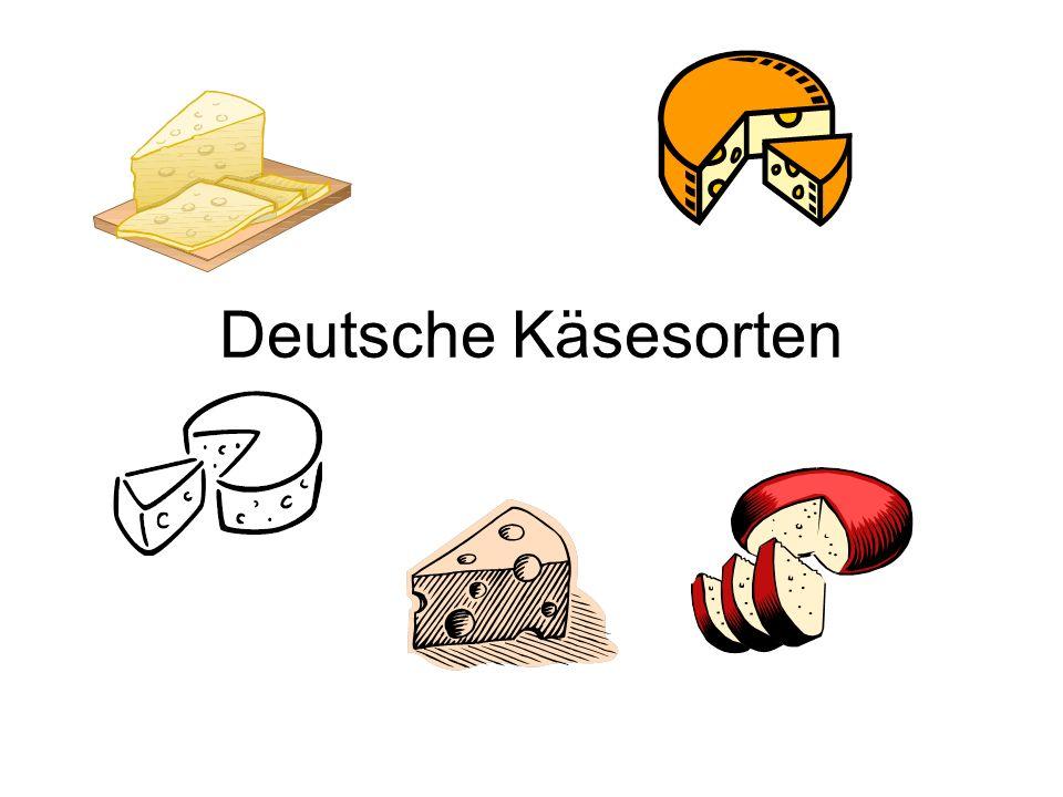 Deutsche Käsesorten
