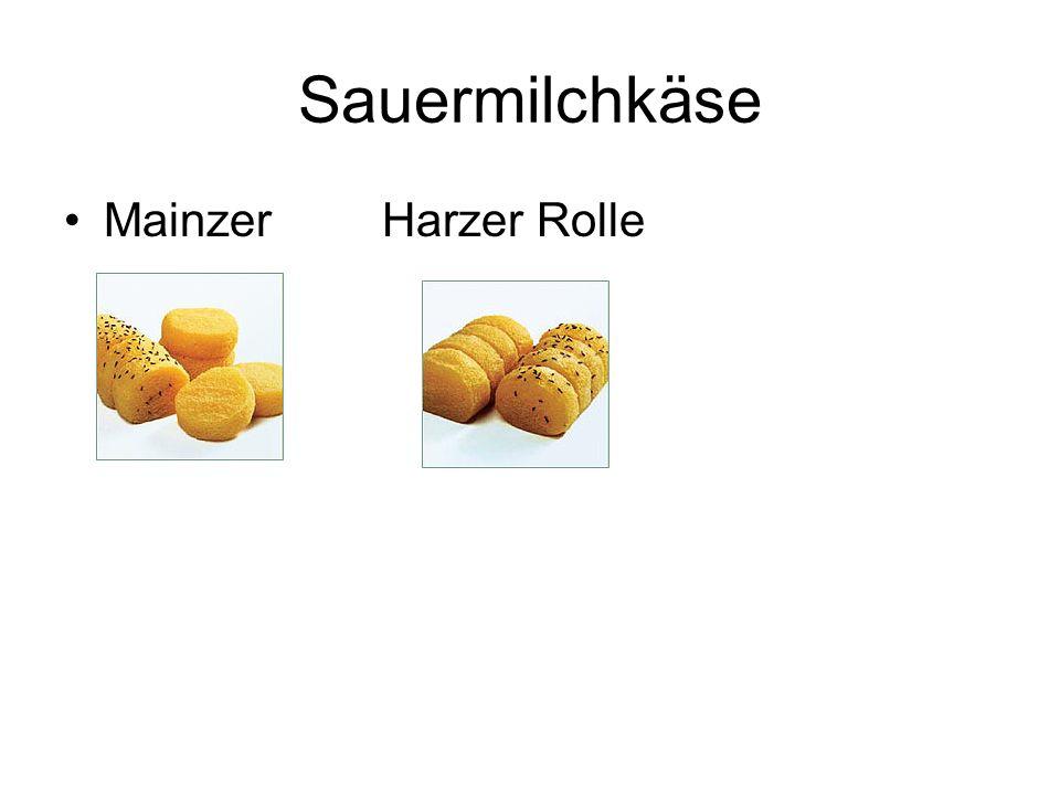 Sauermilchkäse MainzerHarzer Rolle