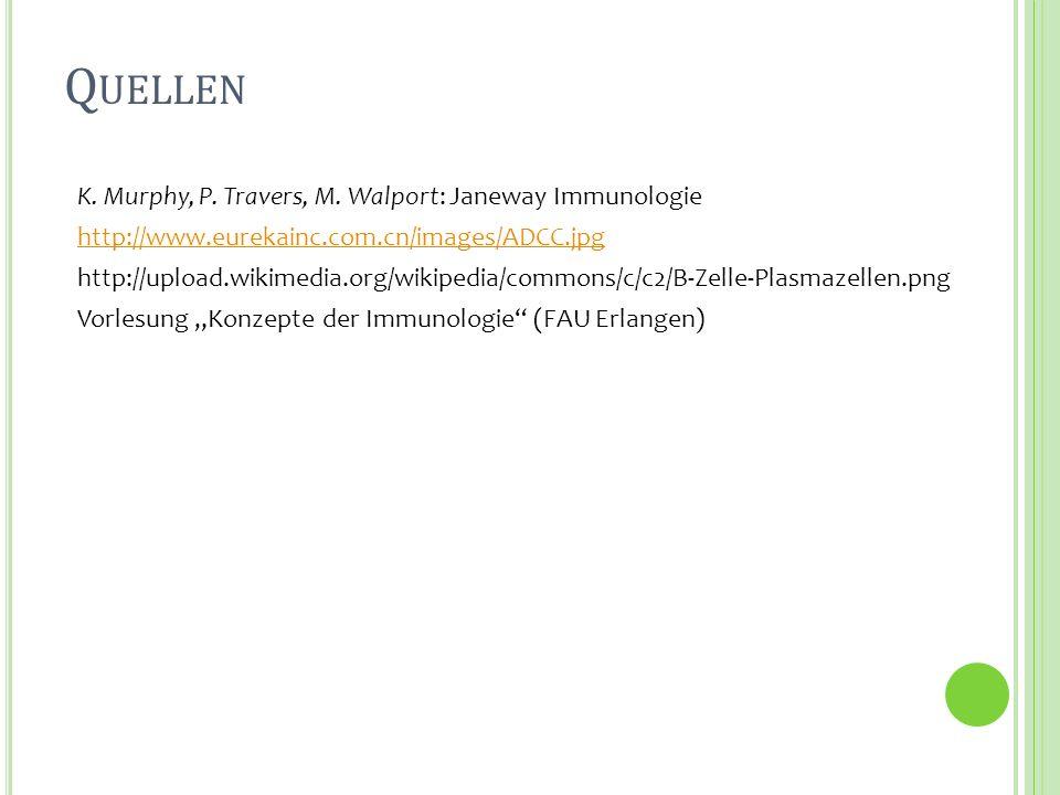 Q UELLEN K. Murphy, P. Travers, M. Walport: Janeway Immunologie http://www.eurekainc.com.cn/images/ADCC.jpg http://upload.wikimedia.org/wikipedia/comm