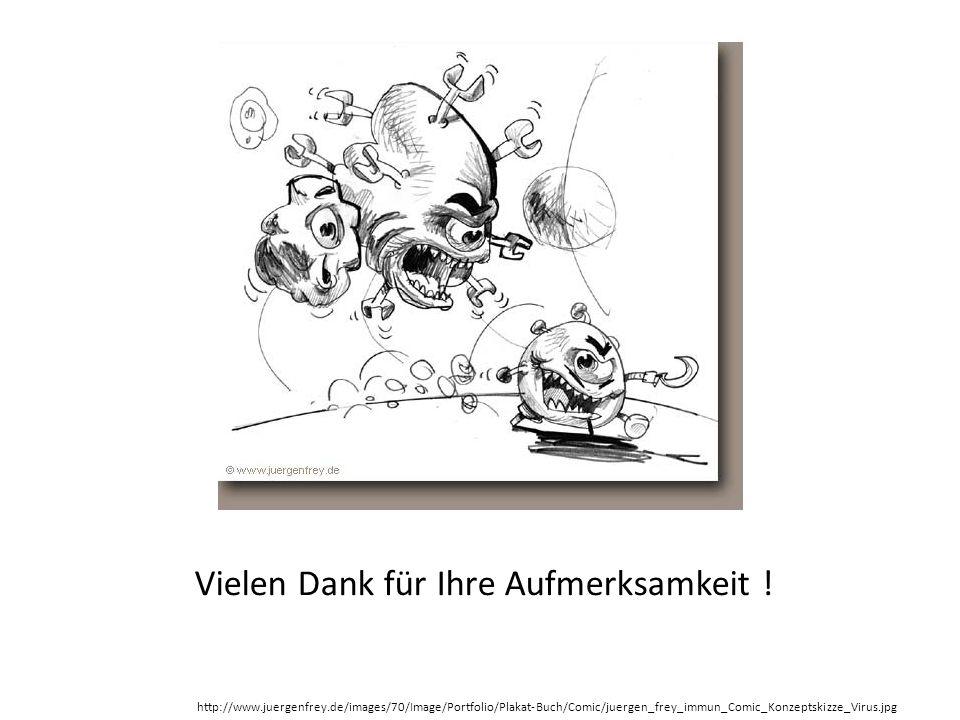 Vielen Dank für Ihre Aufmerksamkeit ! http://www.juergenfrey.de/images/70/Image/Portfolio/Plakat-Buch/Comic/juergen_frey_immun_Comic_Konzeptskizze_Vir