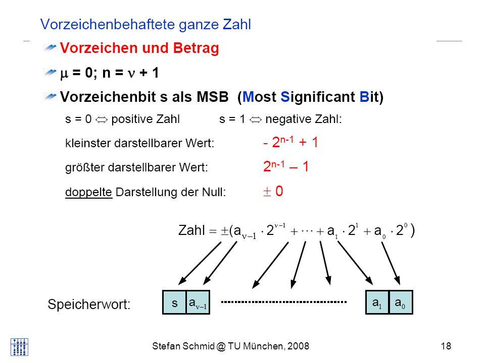 Stefan Schmid @ TU München, 200818 DISTRIBUTED COMPUTING