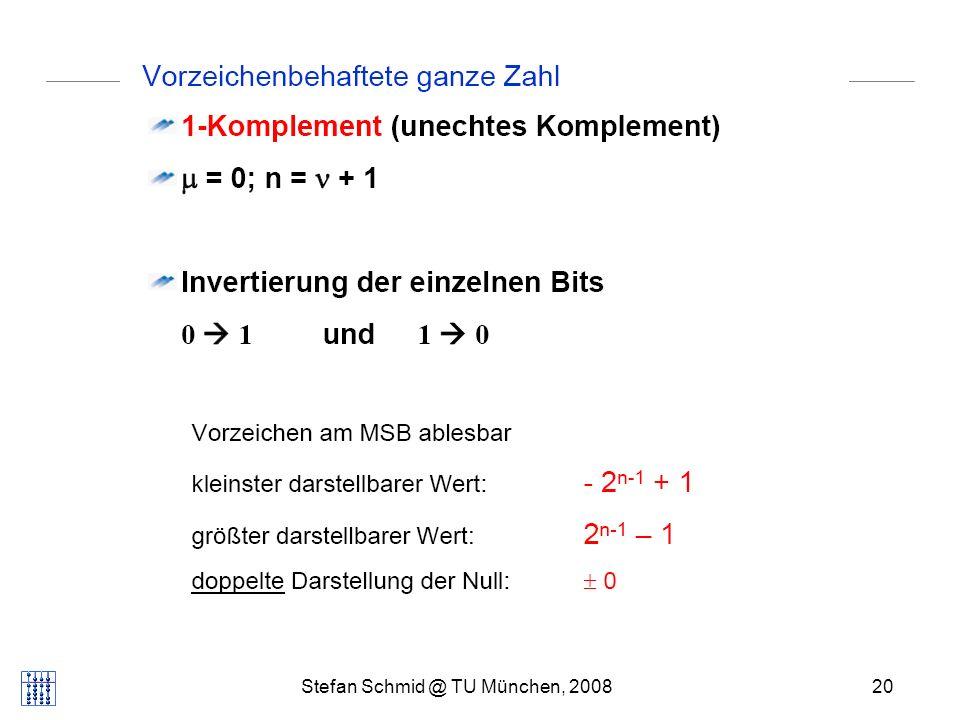Stefan Schmid @ TU München, 200820 DISTRIBUTED COMPUTING