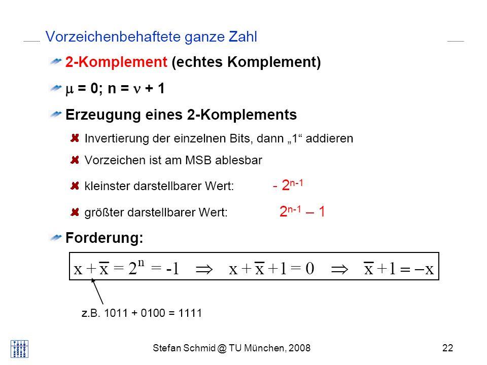 Stefan Schmid @ TU München, 200822 DISTRIBUTED COMPUTING