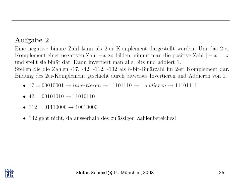 Stefan Schmid @ TU München, 200825 DISTRIBUTED COMPUTING