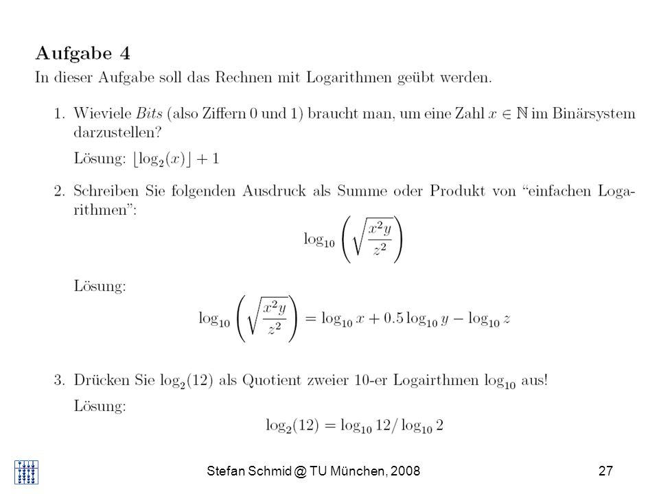Stefan Schmid @ TU München, 200827 DISTRIBUTED COMPUTING