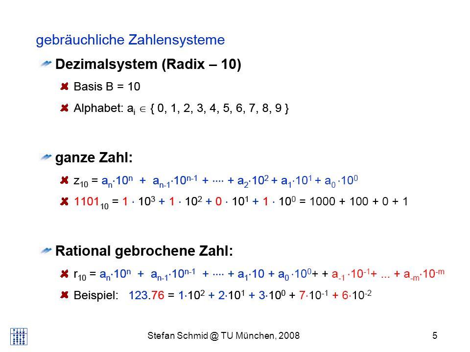 Stefan Schmid @ TU München, 20085 DISTRIBUTED COMPUTING