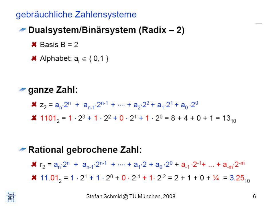 Stefan Schmid @ TU München, 20086 DISTRIBUTED COMPUTING