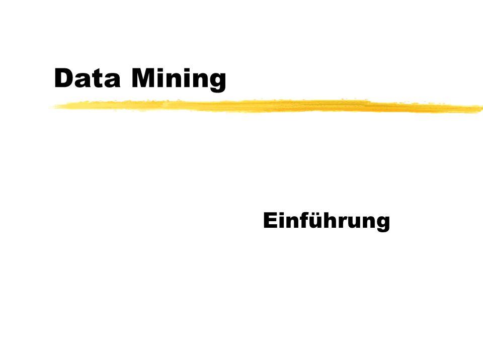 Personalisierung zDer Personalisierungsprozess ProfilingMatch Making Explizite Daten (Postanschrift, Präferenzen...) Implizite Daten (Click-Stream, Verweilzeiten...) dynamisch (Agentenansatz, Collaborative Filtering) statisch Data Mining