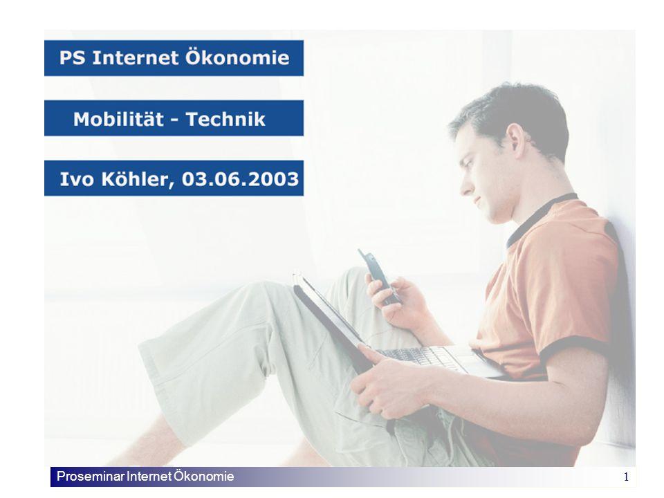 Proseminar Internet Ökonomie 1