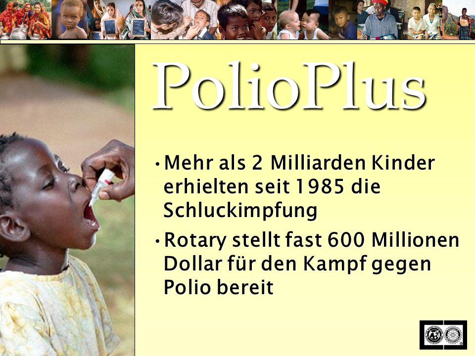 The Rotary Foundation of Rotary International T HE R OTARY F OUNDATION T HE R OTARY F OUNDATION of Rotary International PolioPlus update July, 2005