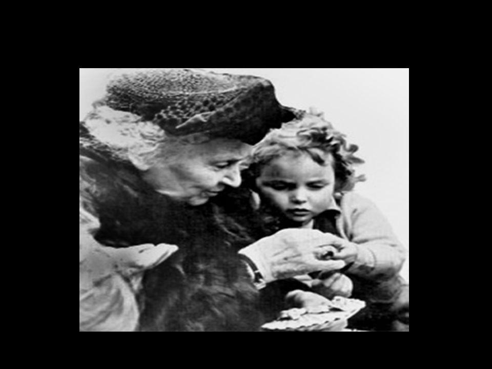 Wer war Maria Montessori.