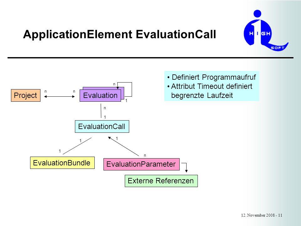 ApplicationElement EvaluationCall 12.