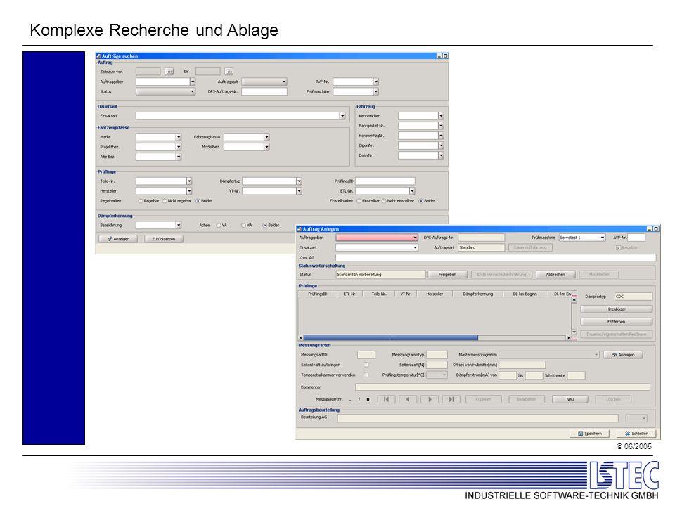 © 06/2005 Komplexe Recherche und Ablage