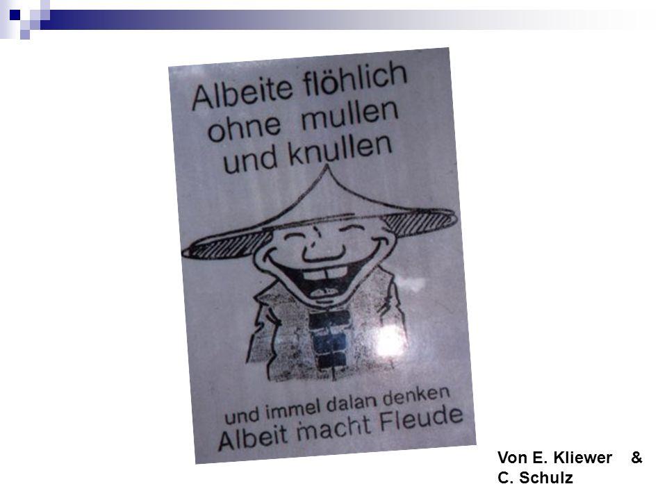 Von E. Kliewer& C. Schulz