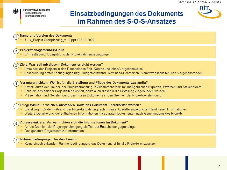 Projekt-Grobplanung Kompetenzzentrum Großprojektmanagement (CC GroßPM) – Vorlage –