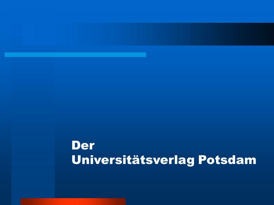 Der Universitätsverlag Potsdam