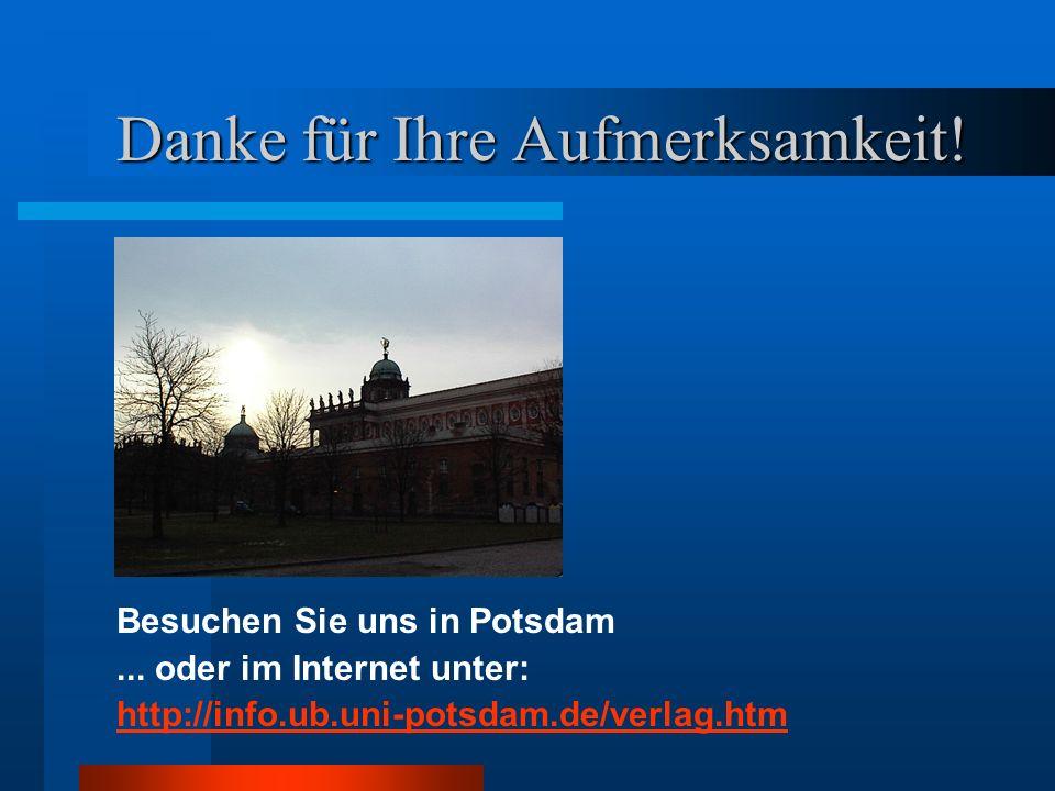 Besuchen Sie uns in Potsdam...