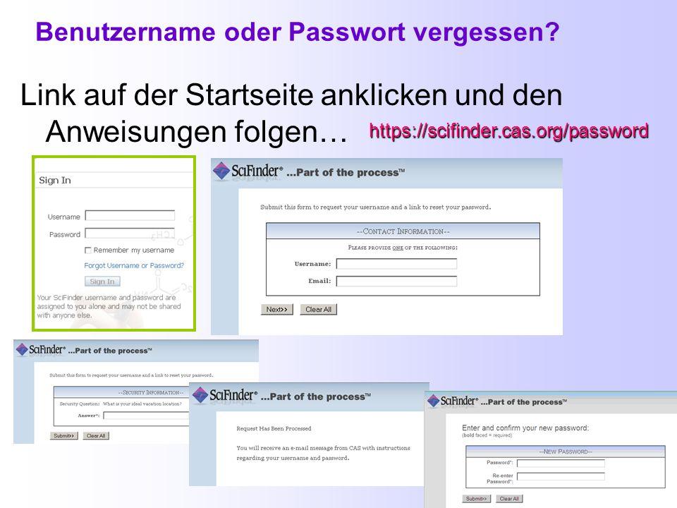 Registrierung bei CAS (2) Die Registrierung und die anschließende Verifizierung (nach Erhalt eines E-Mail-Links) müssen innerhalb von 48 h und am selb