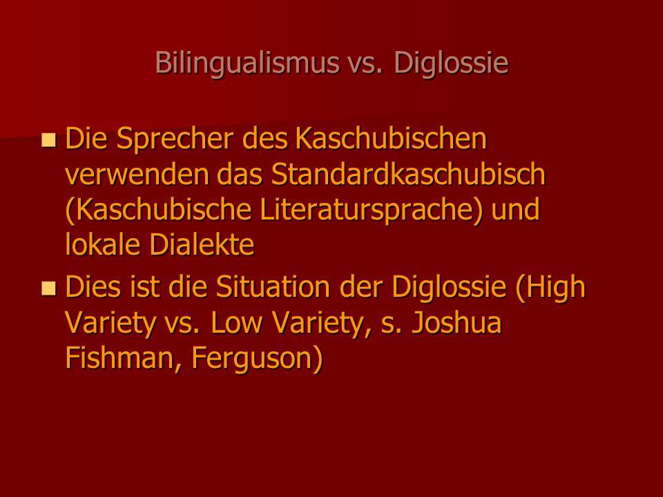 Bilingualismus vs.