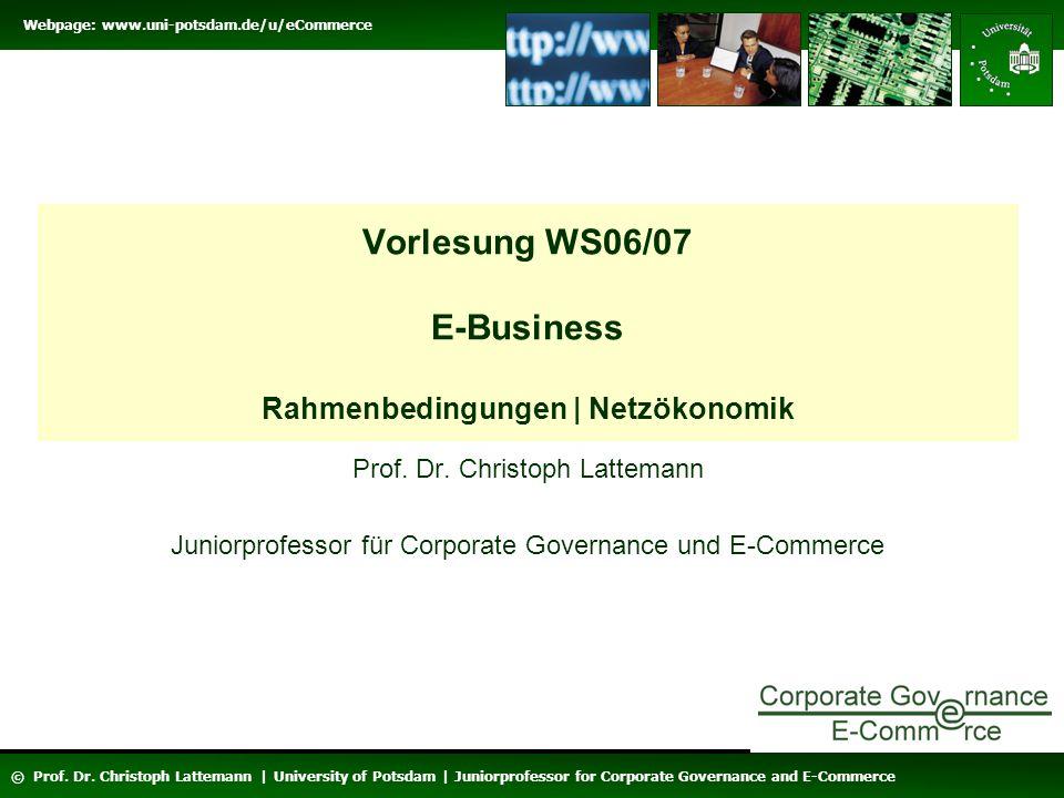Webpage: www.uni-potsdam.de/u/eCommerce © Prof.Dr.