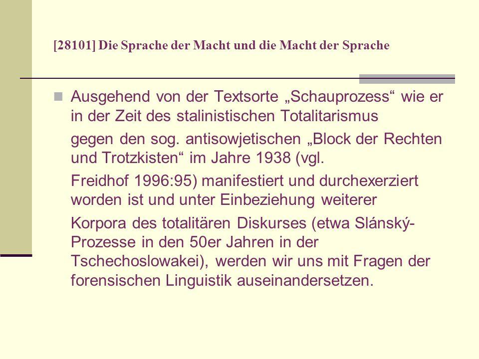 [28101] Die Sprache der Macht und die Macht der Sprache 1 Šarangovič: Ja zanimalsja vreditelstvom, glavnym obrazom, v oblasti selskogo chozjajstva.