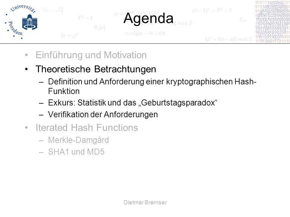 Dietmar Bremser Definition.