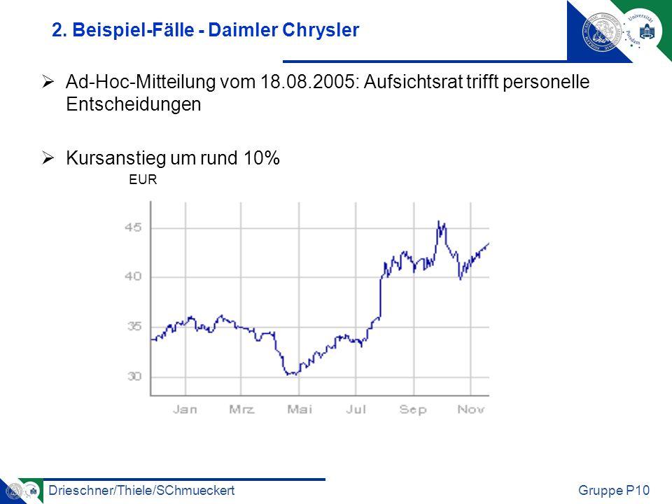 Drieschner/Thiele/SChmueckertGruppe P10 2.
