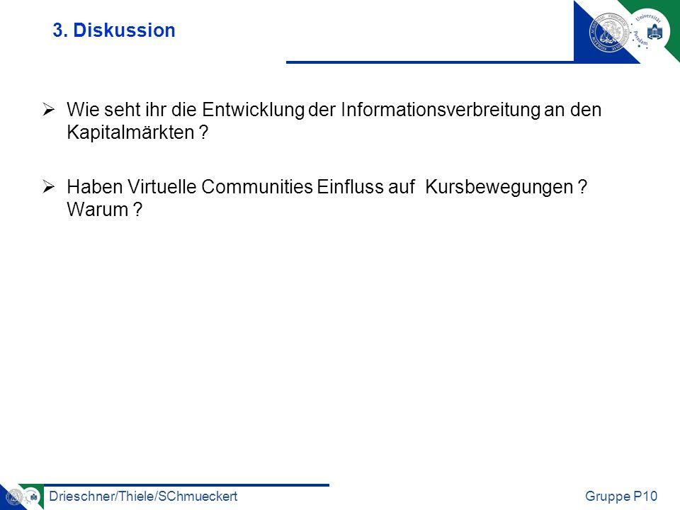 Drieschner/Thiele/SChmueckertGruppe P10 3.
