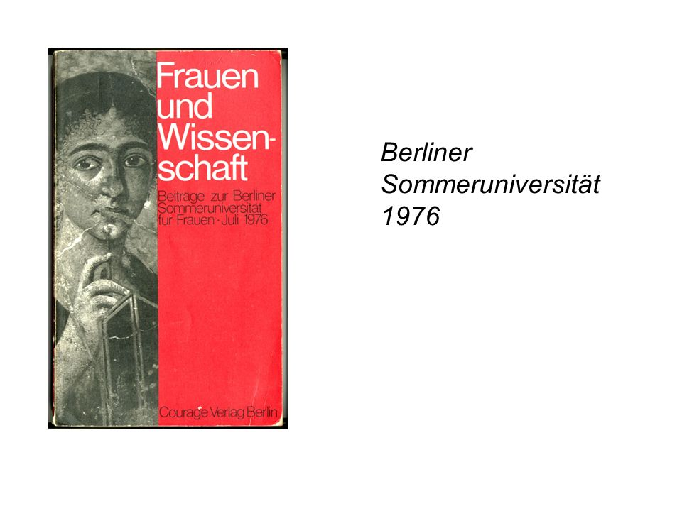 Berliner Sommeruniversität 1976