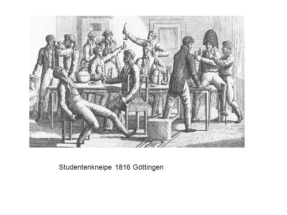 Studentenkneipe 1816 Göttingen