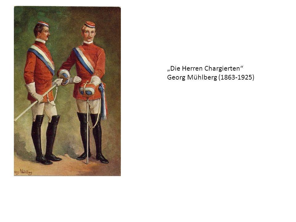 Die Herren Chargierten Georg Mühlberg (1863-1925)