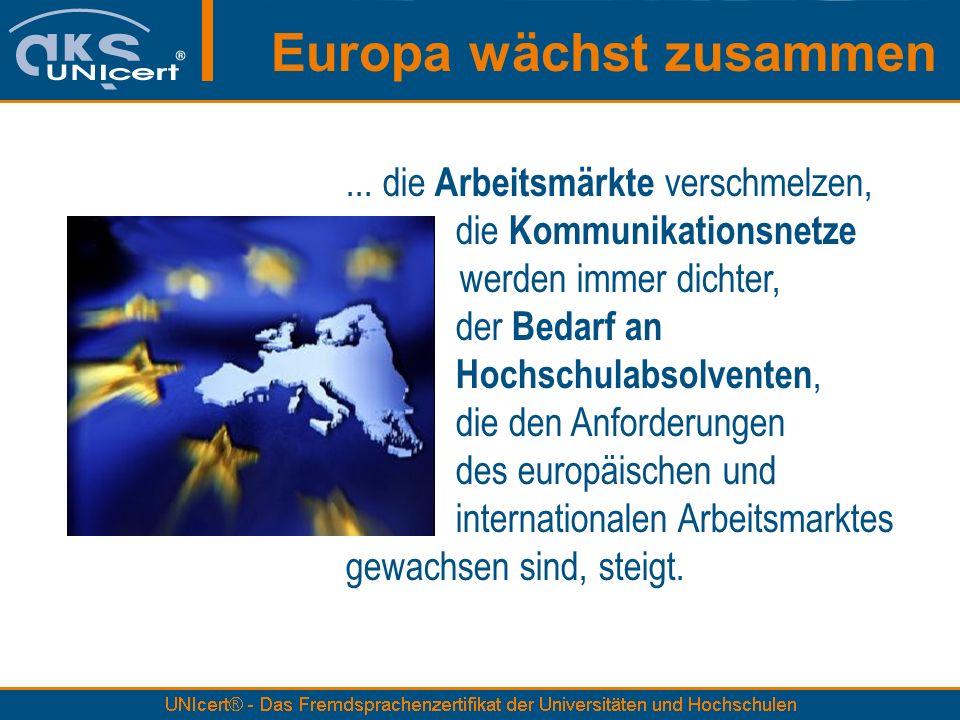 Europa wächst zusammen...
